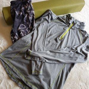Tops - Quarter zip thin excersize jacket